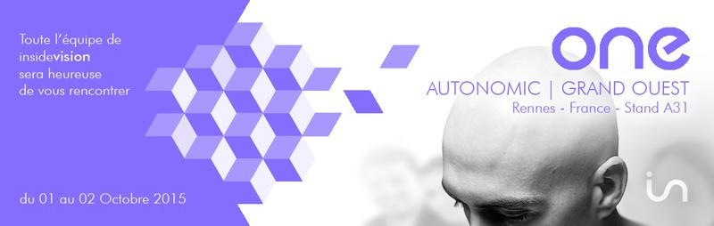 Insidevision actualit s 2015 for Salon autonomic rennes